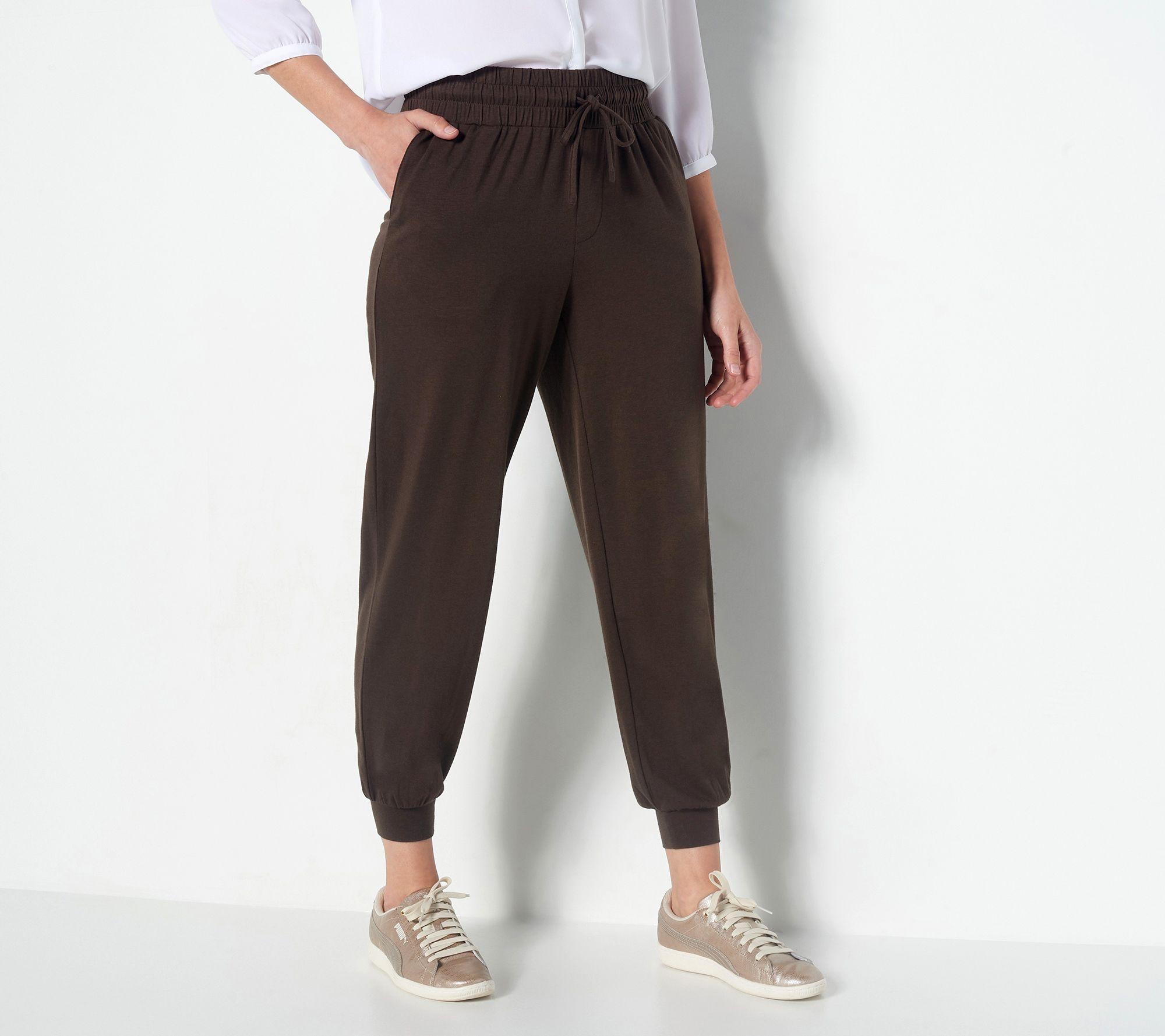 3755a44278f06f AnyBody Loungewear Cozy Knit Jogger Pants — QVC.com