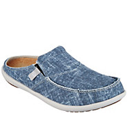 Spenco Orthotic Chambray Mules with Goring - Chambray Slide - A288075