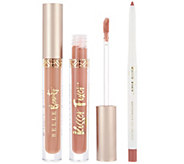 Belle Beauty by Kim Gravel Kisser Fixer Lip Kit - A295275