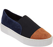 Lori Goldstein Collection Mixed Media Platform Sneakers - A295775