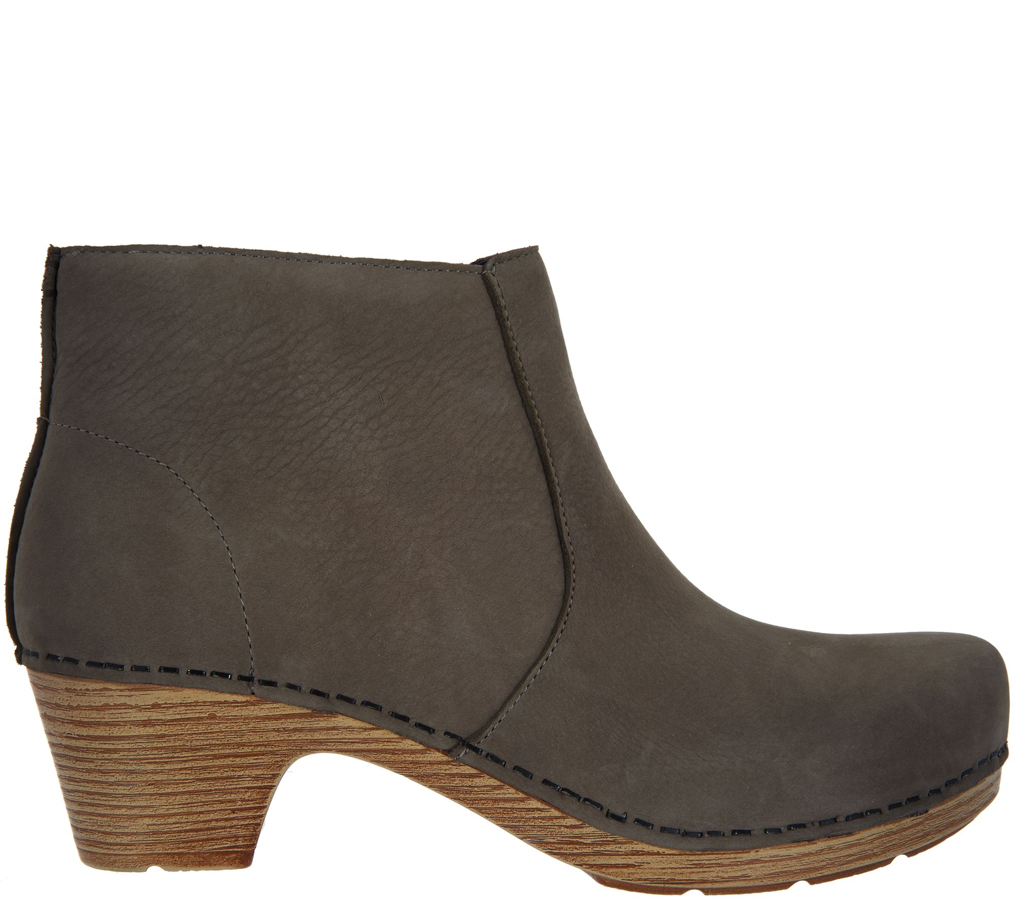 27a033f29367 Dansko Nubuck Leather Ankle Boots - Maria - Page 1 — QVC.com