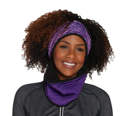 Polar Band-It Neck Gaiter with Attached Headband by Sprigs