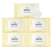philosophy purity made simple cleansing cloths 5 pack - A304575