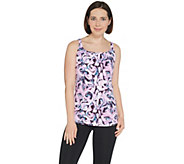 Susan Lucci Collection Cross Back Strap Tank - A308275