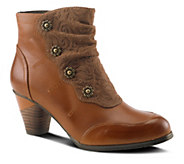 Spring Step LArtiste Leather Ankle Boots - Belgard - A334275