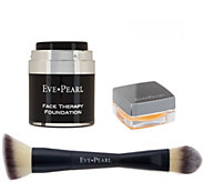 EVE PEARL Face and Lip Therapy w/ 201 Contour Blending Brush - A342575