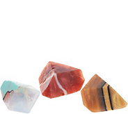 SoapRockettes Fall Set of 3 Gemstone Cleansing Soaps - A344575