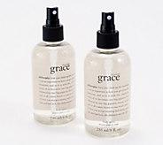 philosophy grace fragrance body spritz 8 oz duo - A378475
