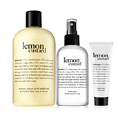 philosophy lemon custard layering duo with gift - A448875