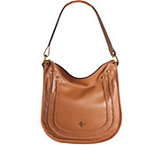orYANY Pebble Leather Hobo w/ Braiding Detail - Madelyn - A280476