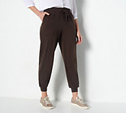 AnyBody Loungewear Petite Cozy Knit Jogger Pants - A286476