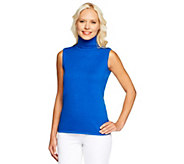 As Is Joan Rivers Wardrobe Builders Easy Chic Turtleneck Tank - A291676