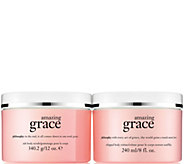 philosophy grace scrub & creme body treatment Auto-Delivery - A294376