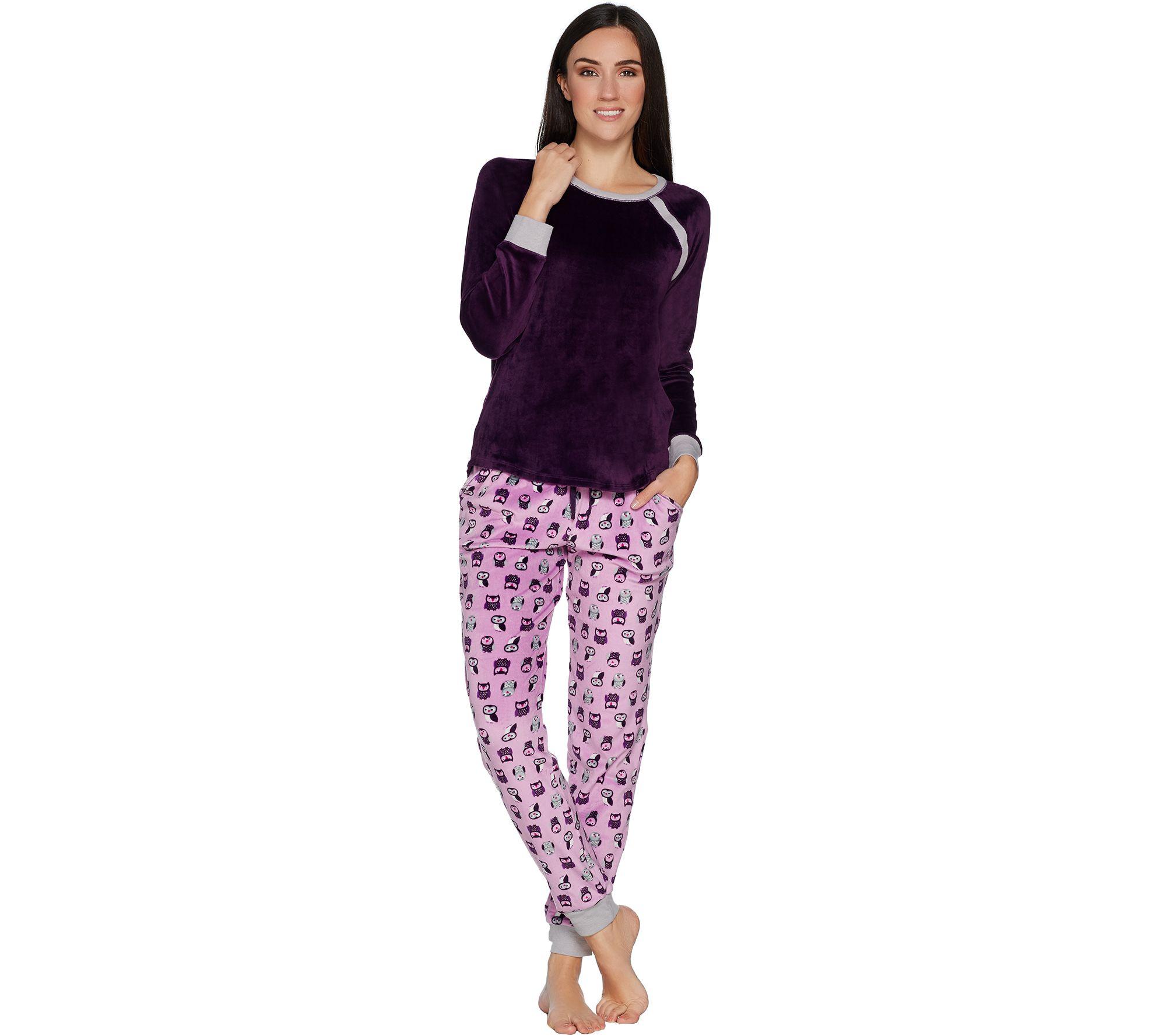 983037665c Cuddl Duds Ultra Plush Velvet Fleece Novelty Pajama Set - Page 1 ...