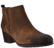 Rockport Total Motion Leather Distressed Ankle Boots - A296676