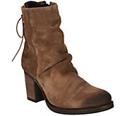 Bos. & Co. Water Resistant Suede Ankle Boots - Barlow - A299276