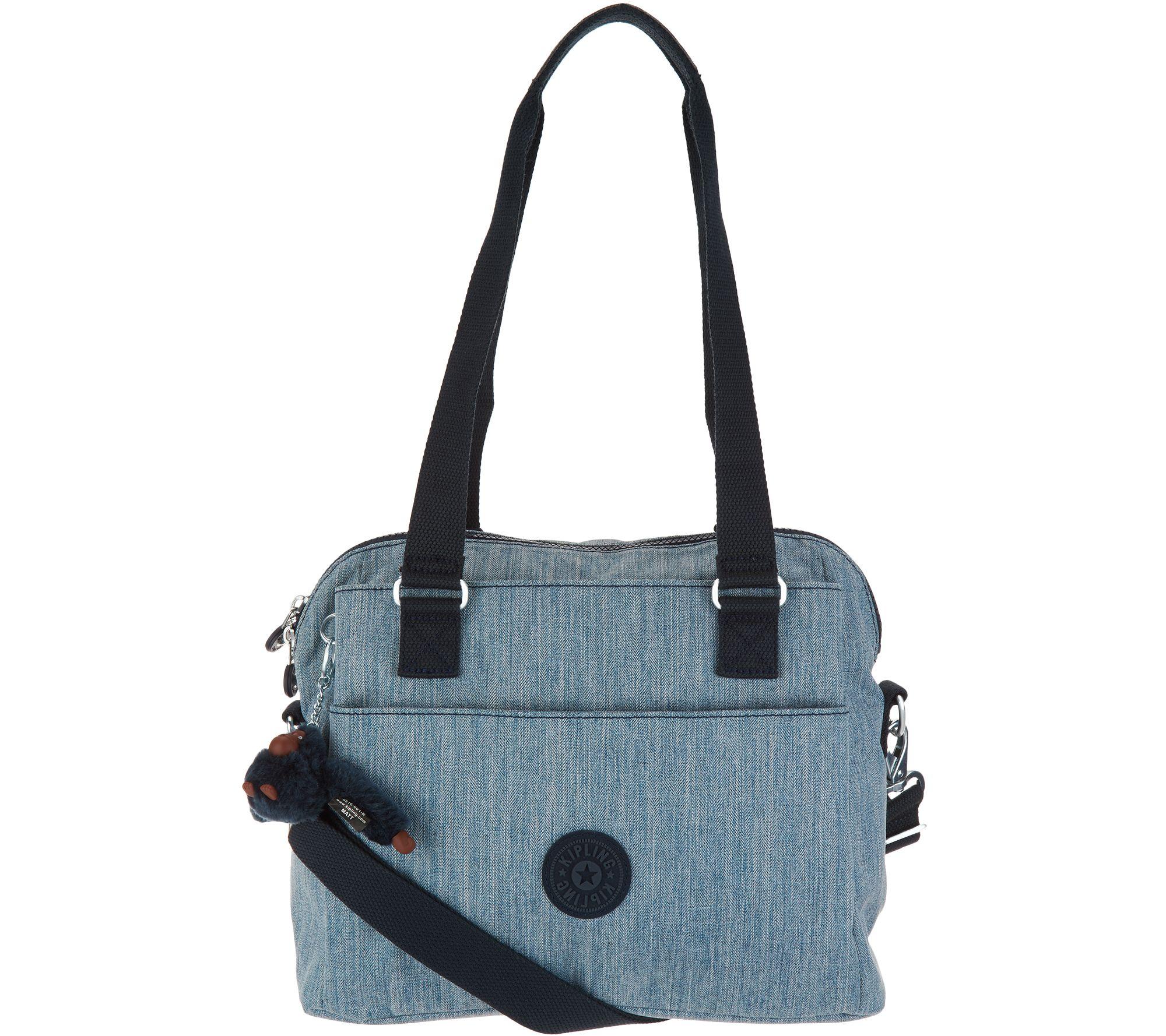402a0480004 Kipling Zip Top Shoulder Bag w/ Crossbody Strap - Felicity - Page 1 —  QVC.com
