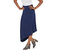 Lisa Rinna Collection Solid Midi Skirt - A309276