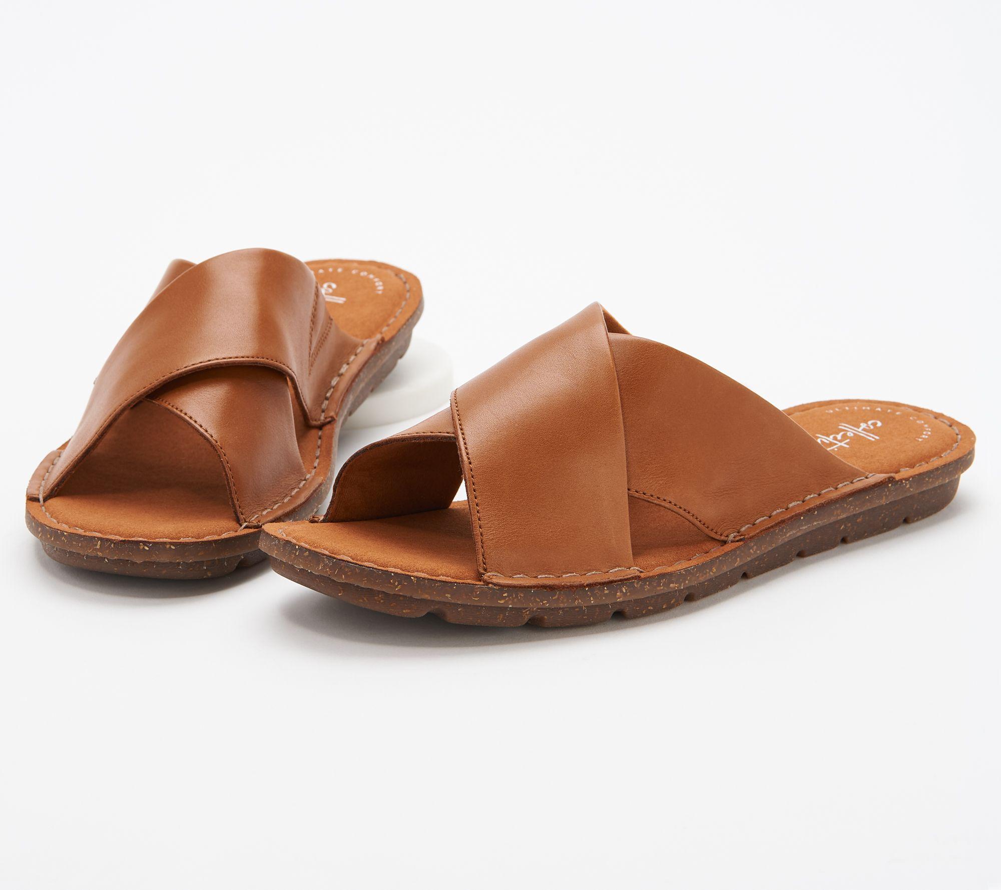 Clarks studio beat flat sandals