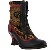 LArtiste by Spring Step Leather and Textile Boots - Bewitch - A414776