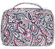 Vera Bradley Signature Iconic Large Blush & Brush Case - A415076