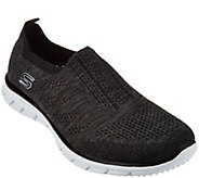 Skechers Flat Knit Slip-On Sneakers - Stunner - A287177