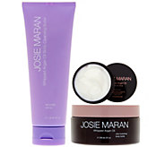 Josie Maran Cleanse & Hydrate Body Butter Trio in Lavender Citrus - A288377