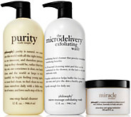 philosophy super-size skincare favorites trio Auto-Delivery - A299677