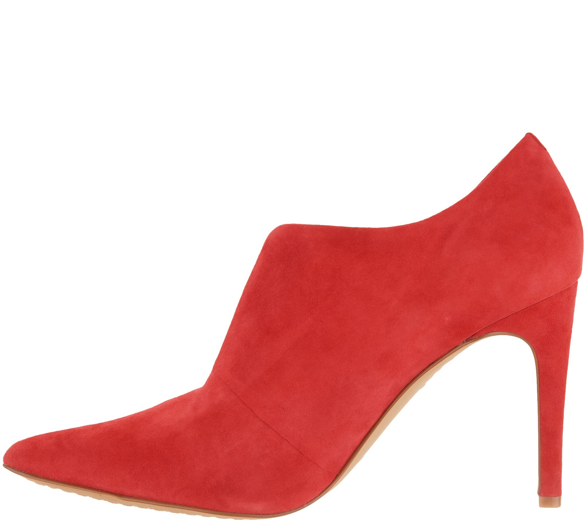 ed415819d Vince Camuto Front V-Cut Booties - Metseya - Page 1 — QVC.com