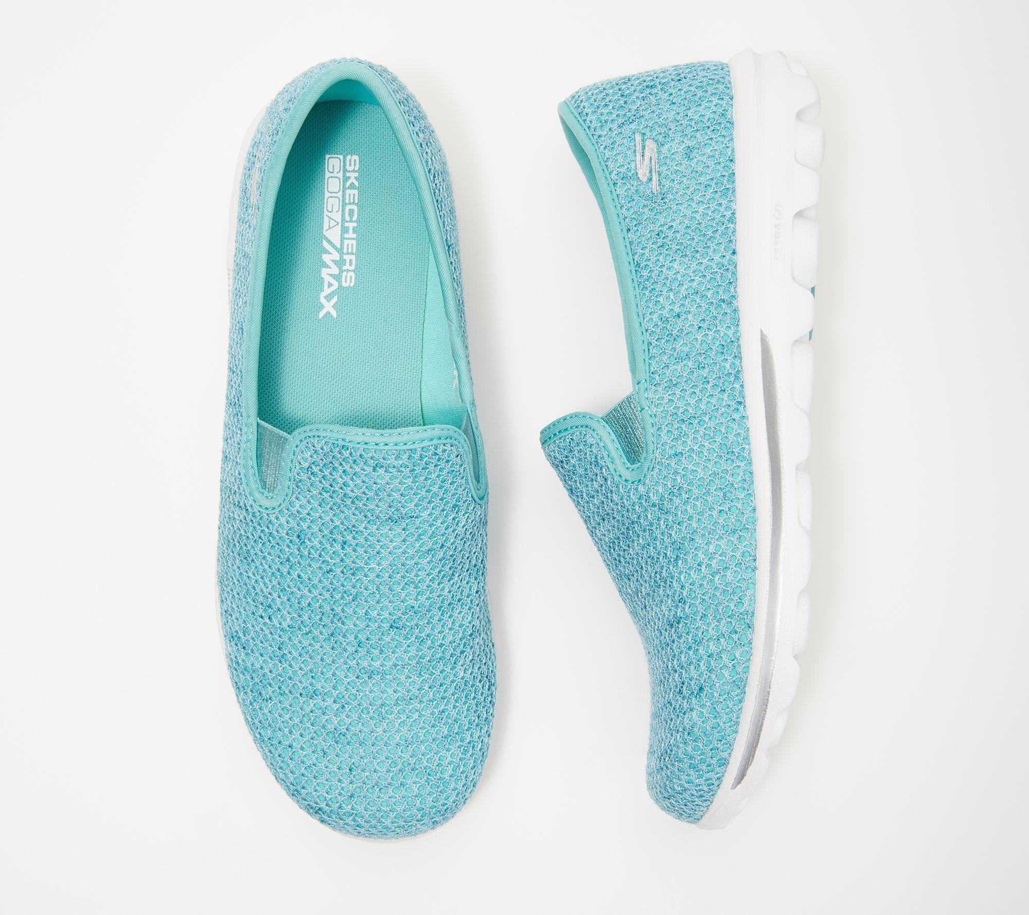 Skechers GOwalk Slip-On Mesh Shoes - Dazzle 2 — QVC.com