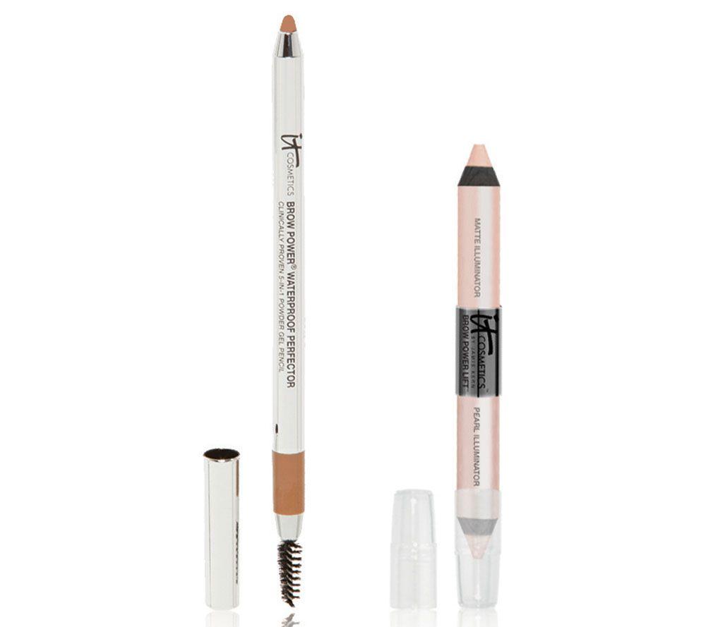 It Cosmetics Brow Perfector Auto 5 In 1 Gel Brow Lift Pencil Duo