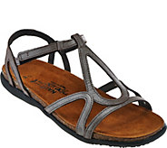 Naot Leather Multi-strap Sandals - Dorith - A284578