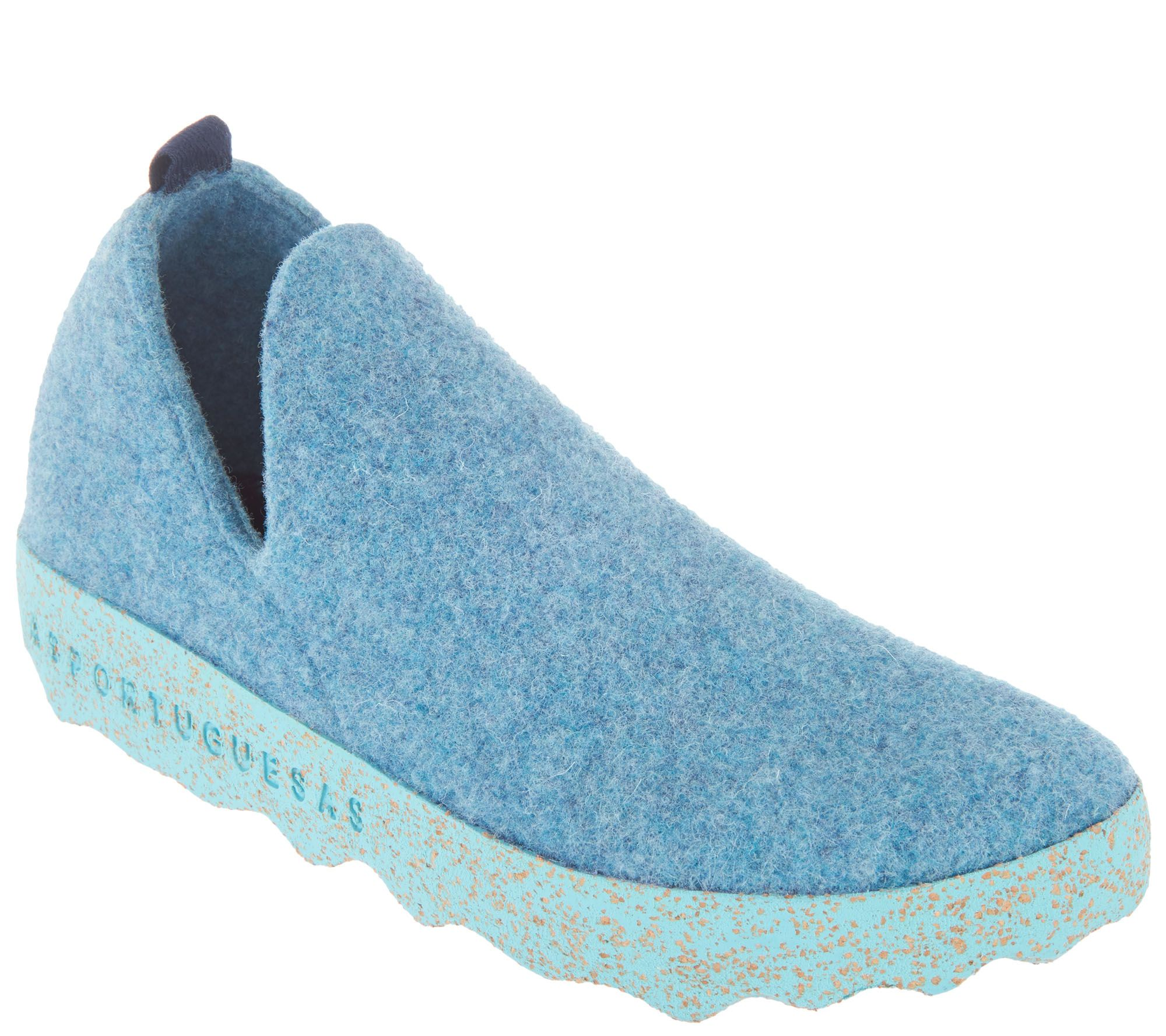 85a539b99825a Asportuguesas by Fly London Boiled Wool Slip-on Shoes — QVC.com