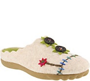 Flexus by Spring Step Indoor Outdoor Wool Slippers - Piketfens - A360278