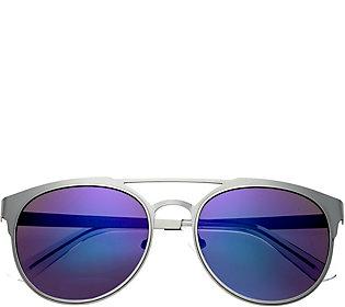 Breed Mensa Silvertone Titanium Sunglasses w/ Polarized