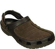 Crocs Mens Leather Clogs - Yukon Mesa - A412478