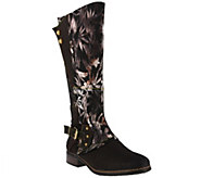 LArtiste by Spring Step Leather and Textile Boots - Blades - A414778