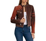 Bagatelle NYC Phoenix Suede Moto Jacket - A426078