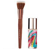 Josie Maran Argan Vibrancy Foundation Fluid with Brush - A272779