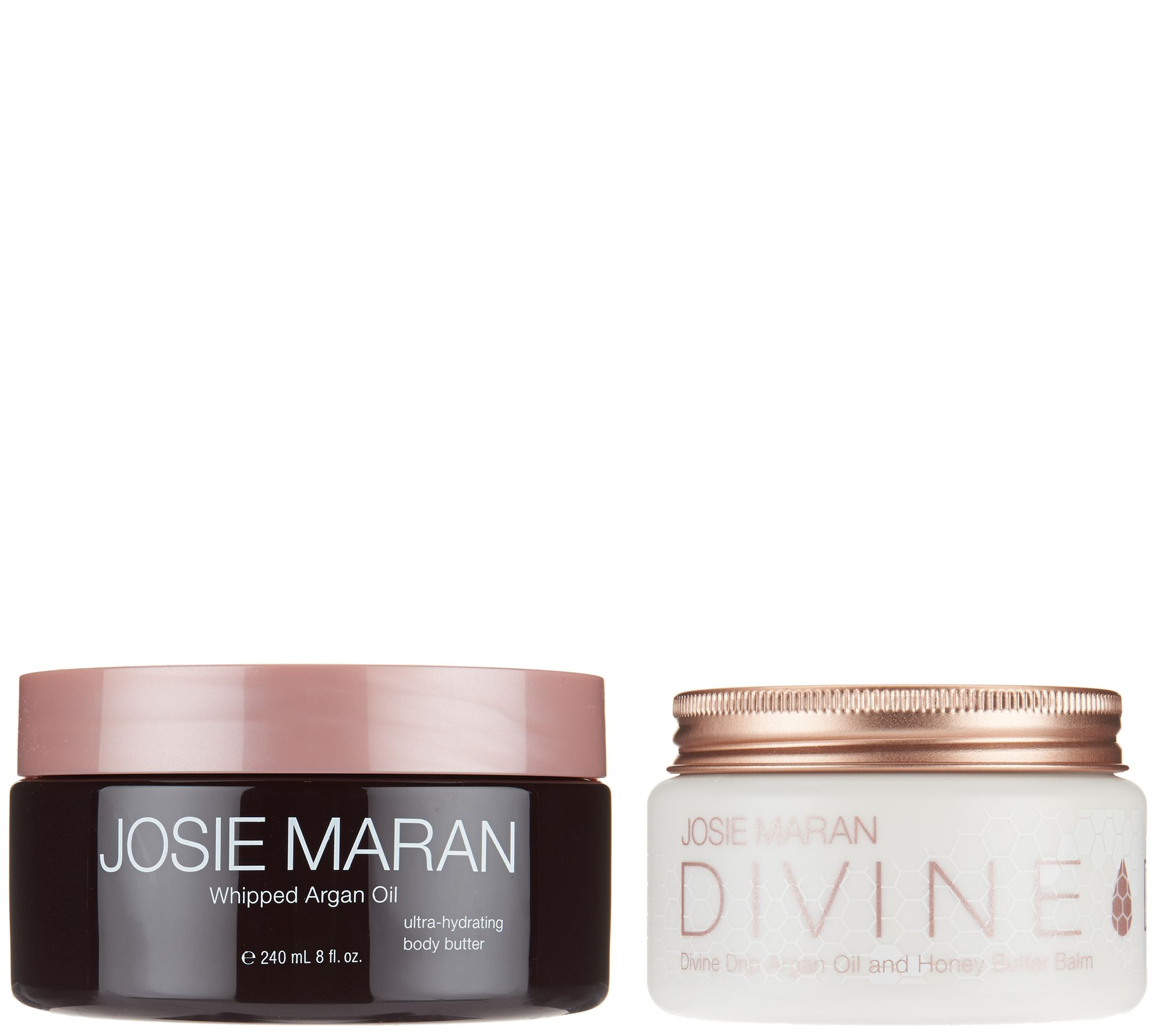 Josie Maran Body Butter Divine Drip Duo Page 1 Cream