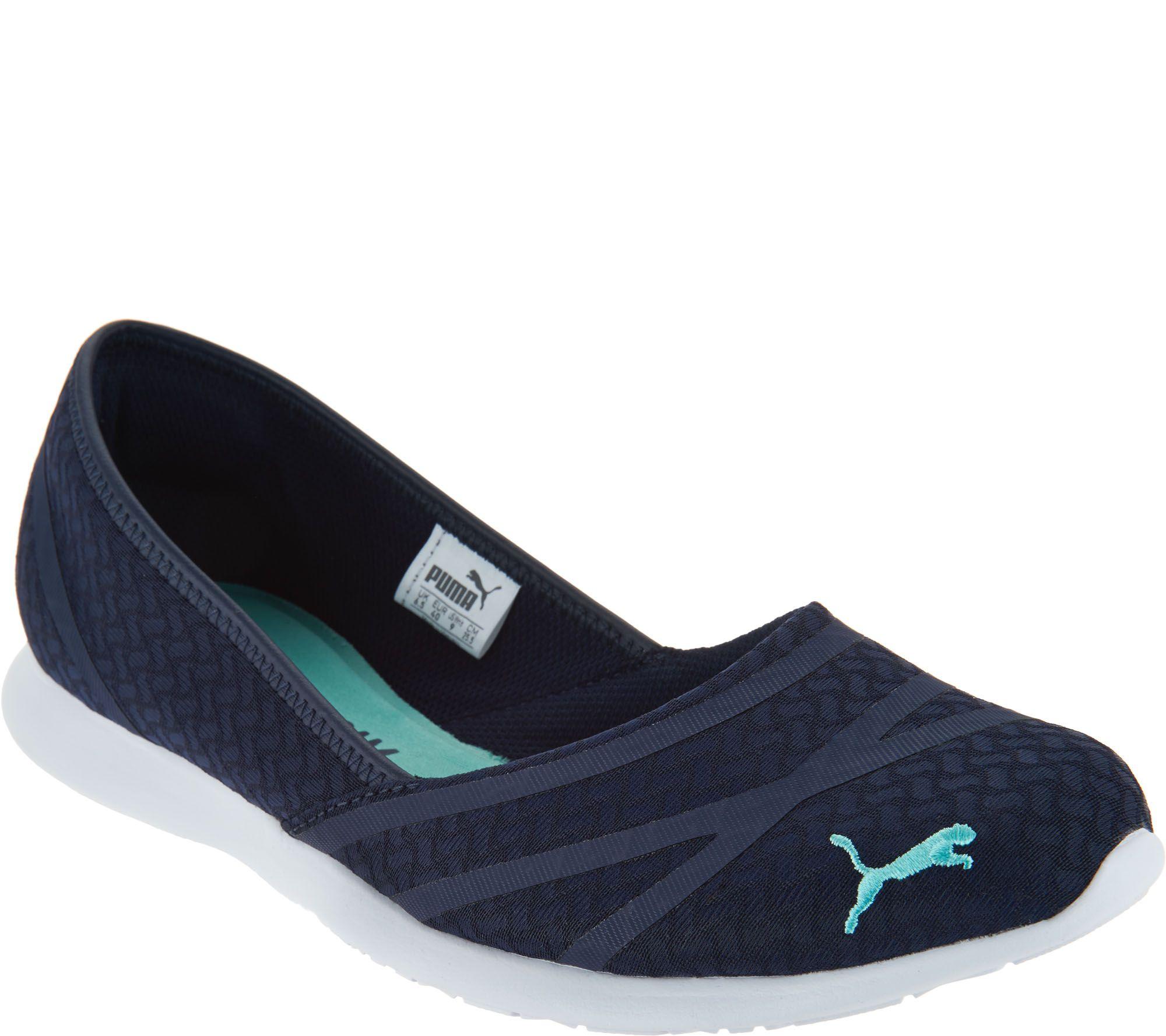 9b272f7b1b7f PUMA Slip-On Mesh Sneakers - Vega Ballet Flume - Page 1 — QVC.com