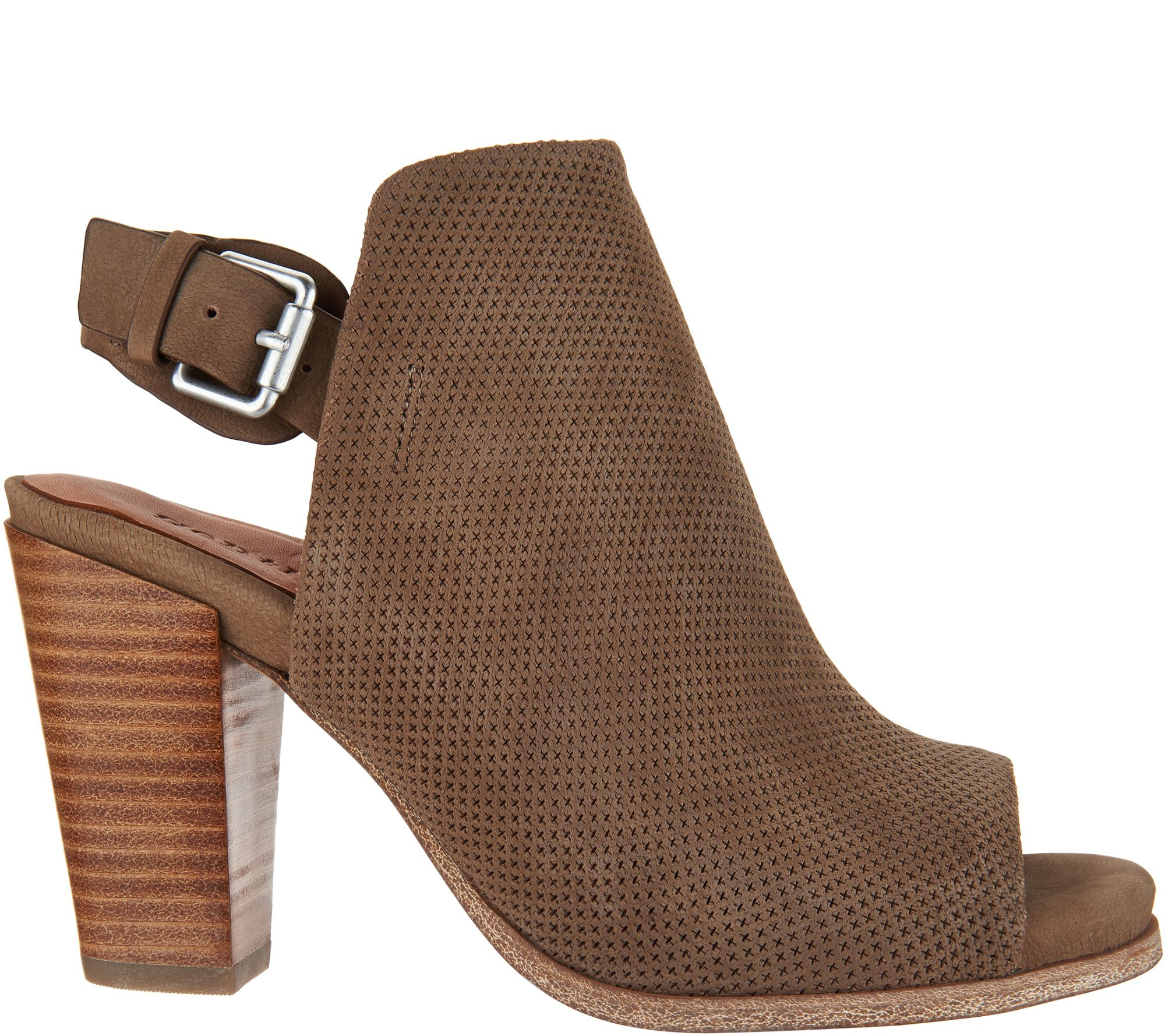 Gentle Souls Leather Block Heel Sandals - Shiloh with mastercard sale online big sale buy cheap reliable ZVRsmvOtx2