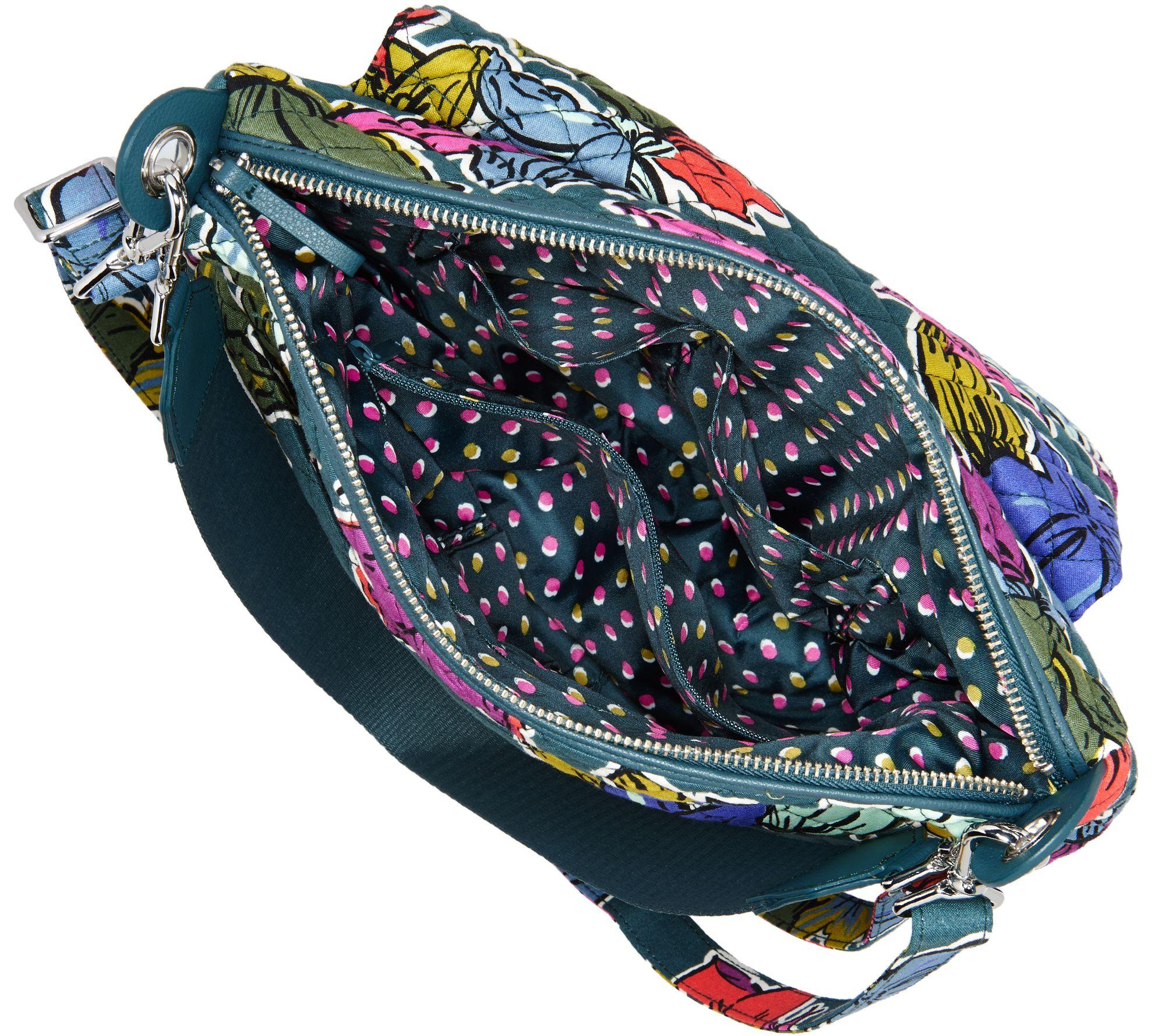be1ef21486cb Vera Bradley Signature Print Carson Shoulder Bag - Page 1 — QVC.com