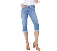 NYDJ Marilyn Crop Jeans w/ Cuff Detail - Pacific - A309479