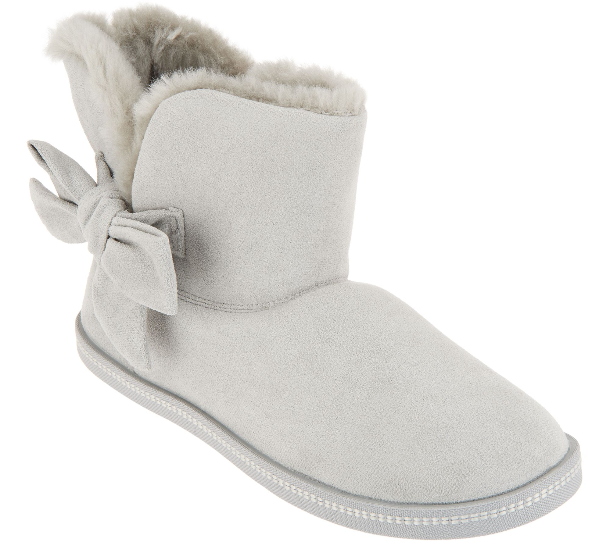 """Gray Boots with Fur Trim /& Buckle Shoes made for 18/"""" American Girl Doll Clothes"""