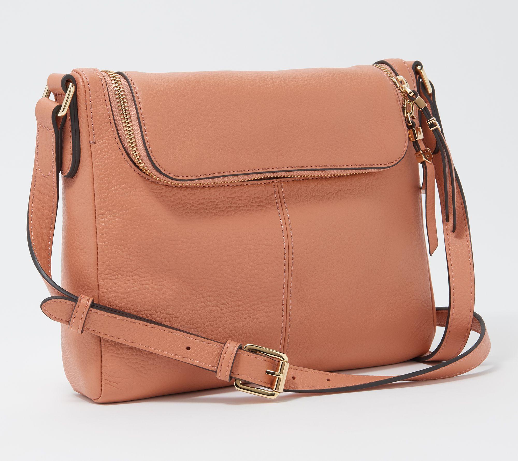 e044d90a14 Vince Camuto Leather Crossbody Bag - Tuli - Page 1 — QVC.com