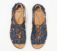 Earth Origins Leather Gladiator Sandals - Belle Bridget - A349679