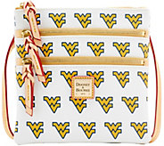 Dooney & Bourke NCAA West Virginia University Zip Crossbody - A283480
