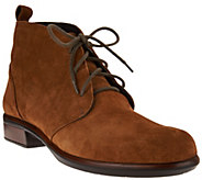 Naot Leather or Suede Lace-up Ankle Boots - Levanto - A285480