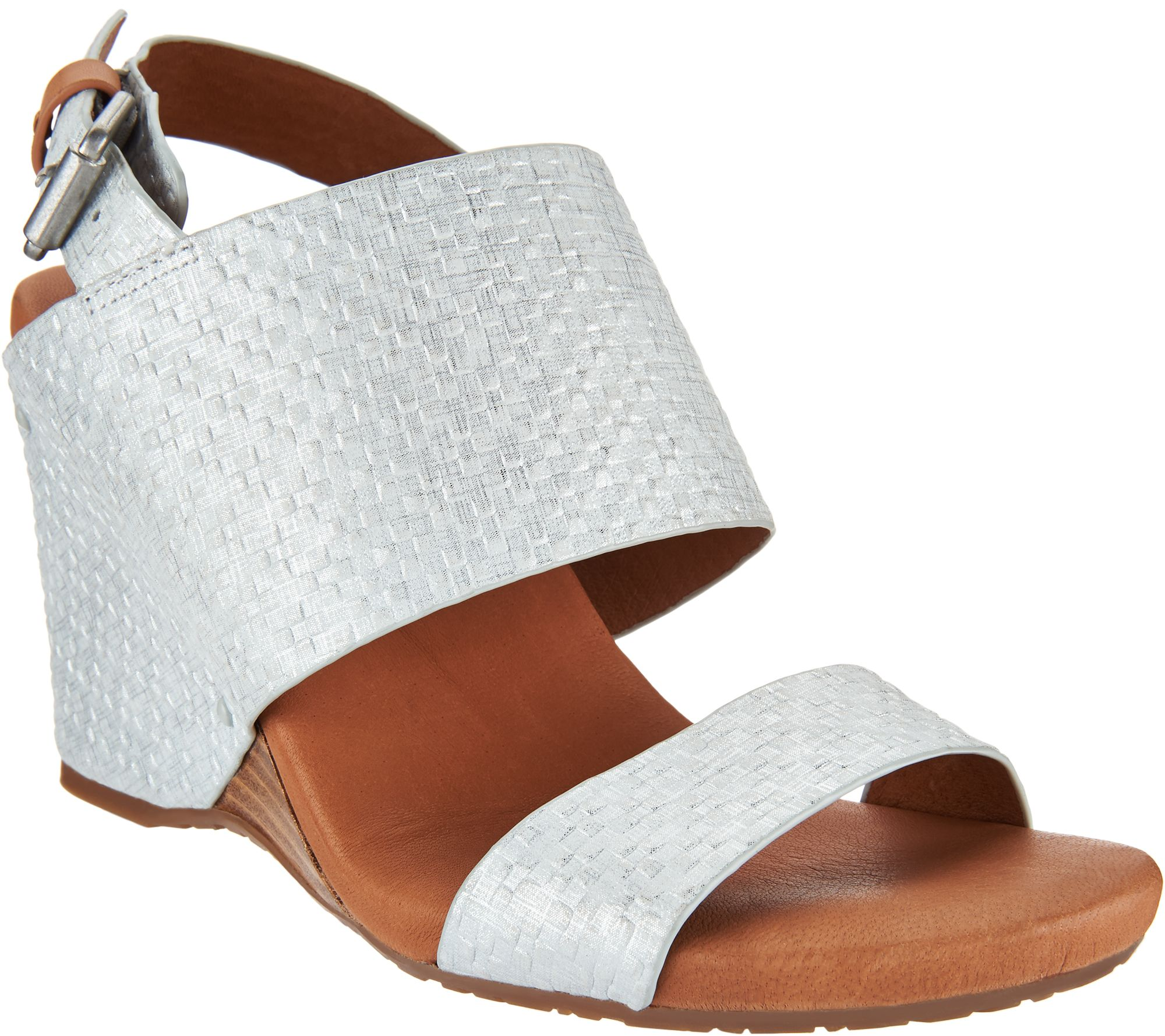 Gentle Souls Leather Covered Wedge Sandals - Inka cheap geniue stockist r1qpvjiCk4